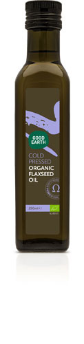Good Earth Organic Cold Pressed Flaxseed Oil 250ml