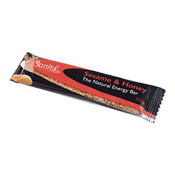 Sunita Sesame & Honey Bar 30g