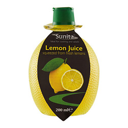 Sunita Lemon Juice 200ml