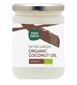 Good Earth Organic Extra Virgin Coconut Oil 500ml