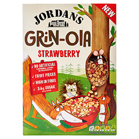 Jordans Strawberry Grin-ola 400g