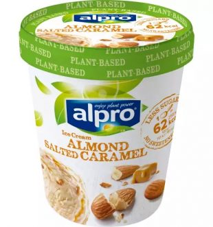 Alpro Almond Salted Caramel Ice-Cream 500ml