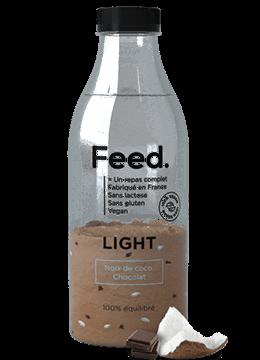 Feed. LIGHT Bottle Coconut Chocolate 150g