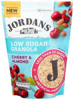 Jordans Cherry and Almond Low Sugar Granola 500g