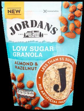 Jordans Almond and Hazelnut Low Sugar Granola 500g