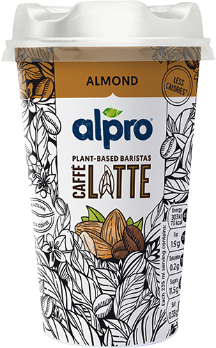 Alpro Caffe' Brazilian Coffee and Almond 235ml
