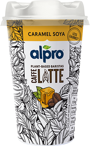 Alpro Caffe' Ethiopian Coffee and Soya Caramel 235ml