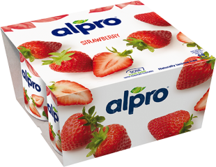 Alpro Strawberry PBAY 4x125g
