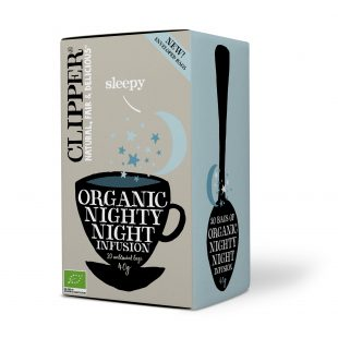 Clipper Organic Nighty Night 20 individual envelopes