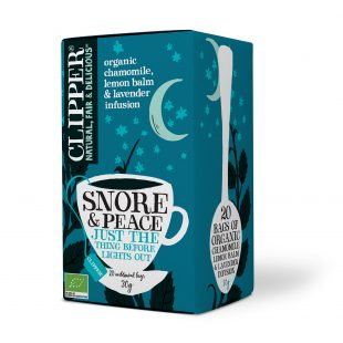 Clipper Organic Snore & Peace 20 individual envelopes