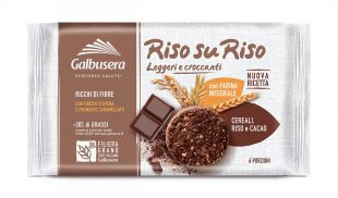 Galbusera Riso su Riso Wholemeal Chocolate Biscuits with Rice and Cereals 220g
