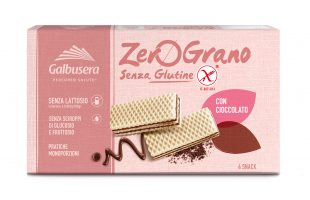Galbusera ZeroGrano (gluten free) Wafer with Chocolate Cream 180g