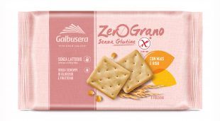 Galbusera ZeroGrano (gluten free) Crackers with Rice and Corn