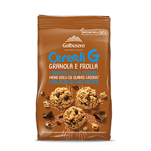 Galbusera Cereali G Granola and Shortbread with Chocolate 300g