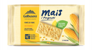 Galbusera Mais (corn) Crackers 400g