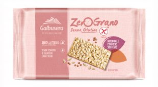 Galbusera ZeroGrano (gluten free) Crackers with Rice 228g
