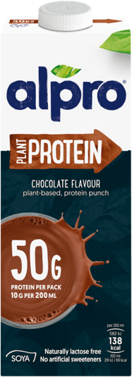 Alpro Soya High Protein Chocolate 1Lt