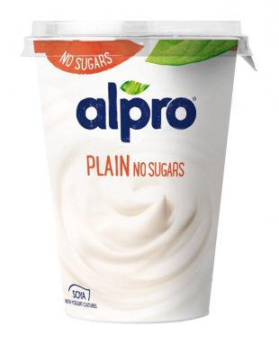 Alpro Plain No Sugars PBAY 500g