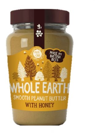 Whole Earth Smooth Peanut Butter with Honey 340g
