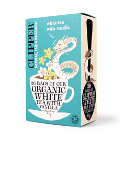 Clipper Organic White Tea with Vanilla 26Teabags