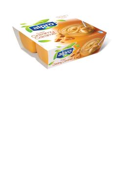 Alpro 4 Tub Dessert Caramel 4x125g