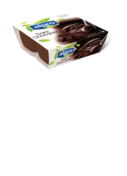 Alpro 4 Tub Dessert Dark Chocolate 4x125g