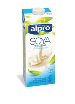 Alpro Soya Milk + Calcium & Vitamins 1L
