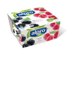 Alpro Raspberry, Cranberry and Blackberry PBAY 4x125g