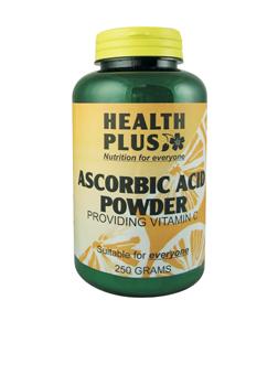 Health Plus Ascorbic Acid Powder 250g