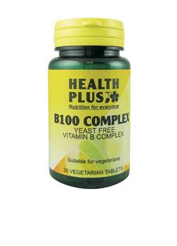 Health Plus Vitamin B Complex 30 tabs
