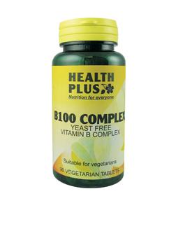 Health Plus Vitamin B Complex 90 tabs