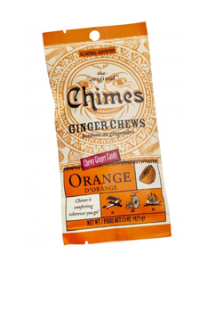Chimes Ginger Chews Orange 42.5g