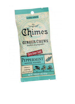 Chimes Ginger Chews Peppermint 42.5g