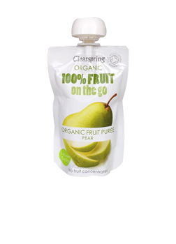 Clearspring Organic FRUIT ON-D-GO PEAR 120G