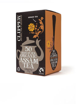Clipper Organic & FT Assam Tea 50 teabags