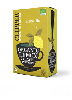 Clipper Organic Lemon & Ginger Infusion 20 Teabags