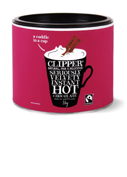 Clipper Seriously Velvety Instant Hot Chocolate 1kg