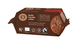 Doves Farm Gluten Free Double Choc Cookies 150g