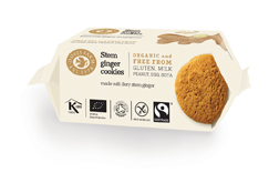 Doves Farm Gluten Free Ginger Cookies 150g