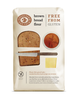 Doves Farm GF Brown Bread Flour Blend 500g