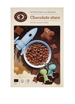 Doves Farm Organic & GF Chocolate Stars 375g