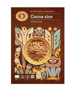 Doves Farm Organic & GF Cocoa Rice 375g