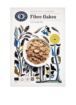 Doves Farm Organic & GF Fibre Flakes 300g
