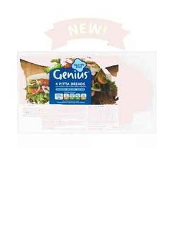 Genius GF Pitta Bread 260g