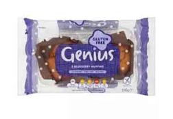 Genius GF Blueberry Muffins 190g