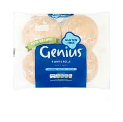 Genius GF White Buns 320g