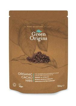 Green Origins Organic Cocoa Nibs 150g