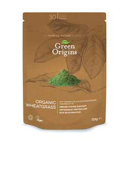 Green Origins Organic Wheatgrass 125g