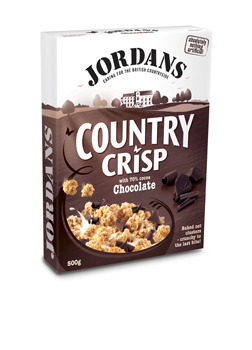 Jordans Country Crisp Chocolate 500g