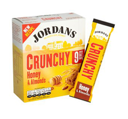 Jordans Crunchy Bar Honey & Almond 30g